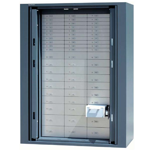 Swing in door safes