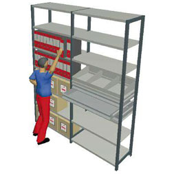 Unimondial Hook Shelving